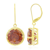 9K Sphalerite Gold Earrings