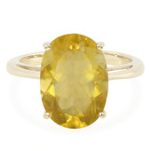 9K Cumbrian Fluorite Gold Ring
