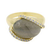 Labradorite Silver Ring (MONOSONO COLLECTION)