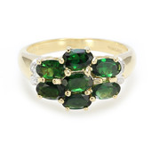 18K Imperial Chrome Tourmaline Gold Ring