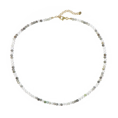 Fancy Zircon Silver Necklace