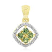 9K Madagascan Demantoid Gold Pendant