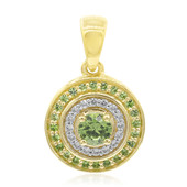 9K Russian Demantoid Gold Pendant