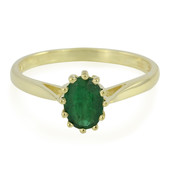 Bahia Emerald Silver Ring