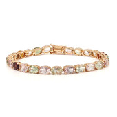 14K Fancy Tourmaline Gold Bracelet