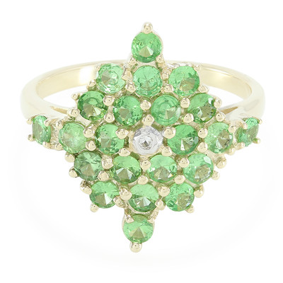 9K Tsavorite Gold Ring