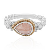 Rhodochrosite Silver Ring (Dallas Prince Designs)