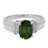 18K Demantoid Gold Ring