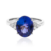 18K AAA Tanzanite Gold Ring (CIRARI)