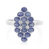 Blue Sapphire Silver Ring