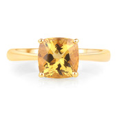 14K Yellow Beryl Gold Ring