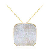 18K SI Diamond Gold Necklace (CIRARI)