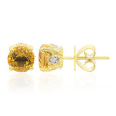 9K Citrine Gold Earrings (Remy Rotenier)