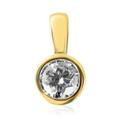 18K SI Diamond Gold Pendant (adamantes [!])