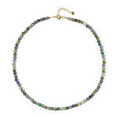 Unheated Tanzanite Silver Necklace