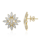 18K FL Diamond Gold Earrings (LUCENT DIAMONDS)