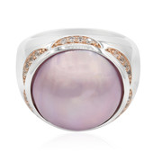 Mabe Pearl Silver Ring (Memories by Vincent)