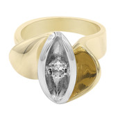 White Topaz Silver Ring (MONOSONO COLLECTION)