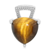Tiger´s Eye Silver Pendant