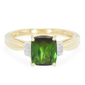 18K Santa Rosa Tourmaline Gold Ring