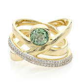 14K Paraiba Tourmaline Gold Ring (de Melo)