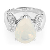 Blue Moon Quartz Silver Ring