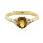 18K Sphene Gold Ring
