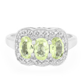 Brazilian Chrysoberyl Silver Ring