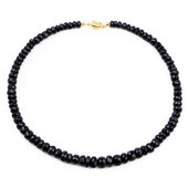 Black Tourmaline Silver Necklace
