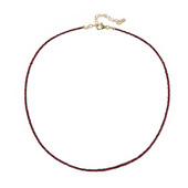 Malawi Ruby Silver Necklace