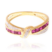 9K Ruby Gold Ring