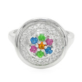 Buriti Fire Opal Silver Ring (Cavill)