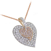 18K SI Diamond Gold Necklace
