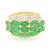 18K Sao Francisco Emerald Gold Ring