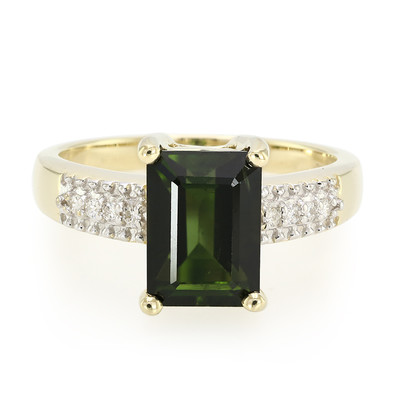 9K Santa Rosa Tourmaline Gold Ring