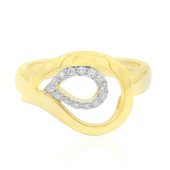 I1 (G) Diamond Silver Ring
