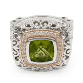 Peridot Silver Ring (Dallas Prince Designs)