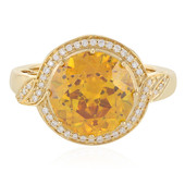 18K Sphalerite Gold Ring