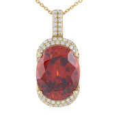 18K Sphalerite Gold Necklace