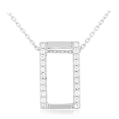 Zircon Silver Necklace