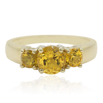 9K Heliodore Gold Ring