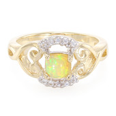 9K AAA Welo Opal Gold Ring
