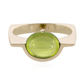 9K Peridot Gold Ring (Adela Gold)