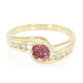 9K Tanzanian Ruby Gold Ring