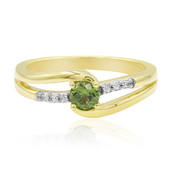 9K Russian Demantoid Gold Ring