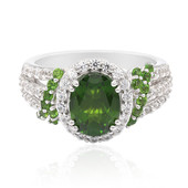 Russian Diopside Silver Ring (Remy Rotenier)