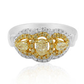 18K SI Yellow Diamond Gold Ring (CIRARI)