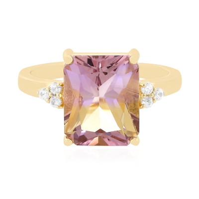 9K Anahi Ametrine Gold Ring