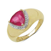 Mozambique Ruby Silver Ring