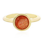 Sunstone Silver Ring
